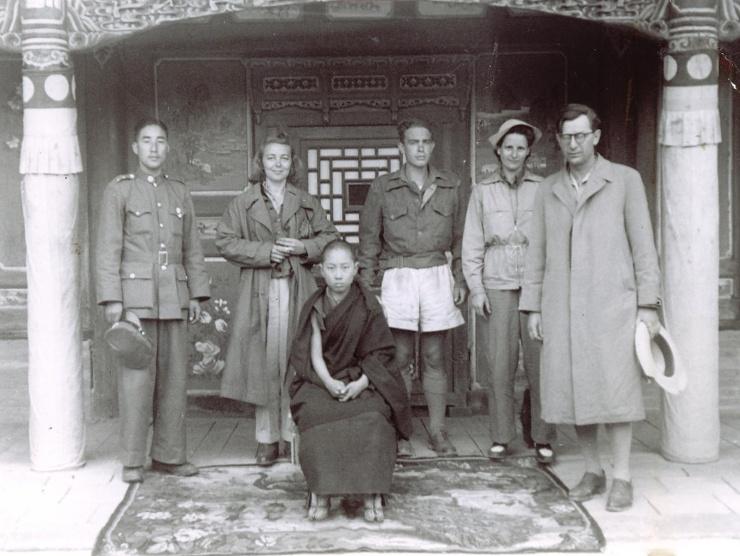 Le Xe Panchen-lama vers 1947 - Thibet secret