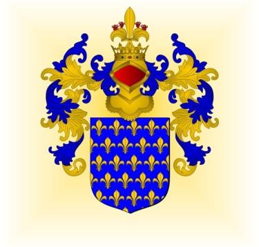 De France ancien, tel qu'utilisé par Louis VII © Arnaud Bunel